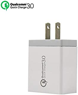OneNorth Fast USB Wall Charger for iPhone Xs/XS Max/XR/X/8/7/6/Plus, iPad Pro/Air 2/Mini 3/Mini 4, Samsung Galaxy S Series, Note Series, and More