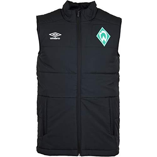 Werder Bremen Umbro Padded Vest Weste (M, schwarz)