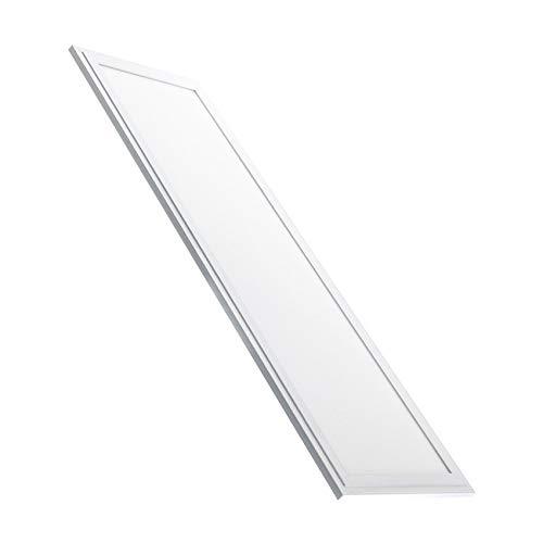 LEDKIA LIGHTING Panel LED Iluminación Doble Cara 120x20cm 32W 3400lm Blanco Frío 6000K - 6500K