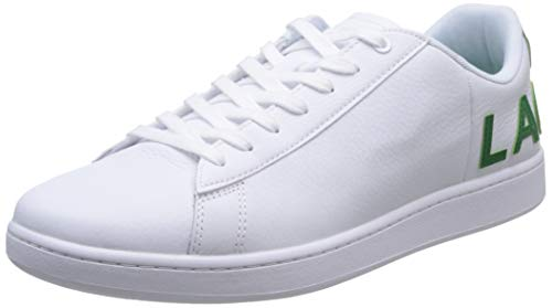 Lacoste Mens 739SMA0052082_40,5 Sneaker, White, 40.5 EU