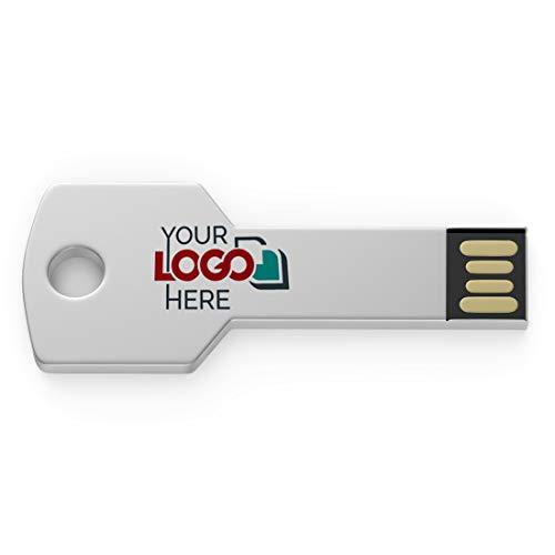 Possibox Memoria USB Llave Personalizada 512MB para Publicidad Pendrive con Logotipo/Texto -...