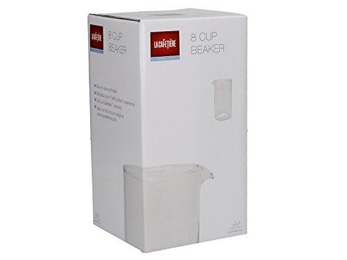 La Cafetière 8 Cup Replacement Beaker, Transparent – 1 Litre (1.75 pints)