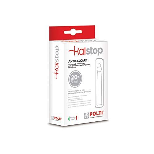 Pulitore 4,5 Bar 2000 W Polti Vaporetto Eco PRO 3.0 Nero 1.3 Litri Bianco /& Kalstop PAEU0094 Anticalcare per Apparecchi a Caldaia Acciaio Inossidabile