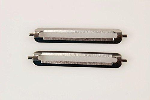 TUPPERWARE Schäler Ersatzklinge für Schälfix (2) D82 Flachschliff Profischäler