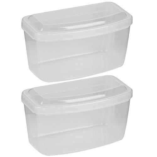 Caja de almacenamiento para gafas de natación profesional Estuche para gafas de plástico, para gafas de buceo y esnórquel(Transparent)