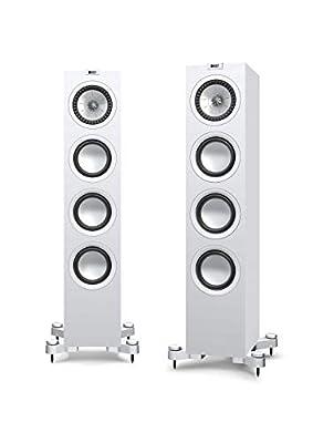 KEF Q550 Floorstanding Speaker, Satin White (Pair) from KEF