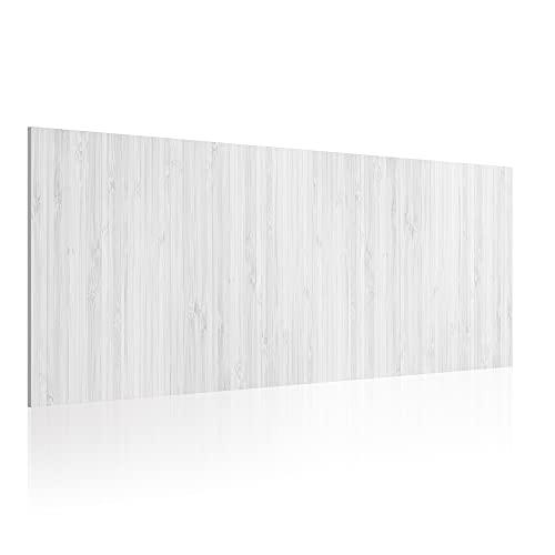Cabecero para Cama de 90 cm, Imitación Madera, PVC Estampado, 95 x 60 x 0.5 cm, CAB-008