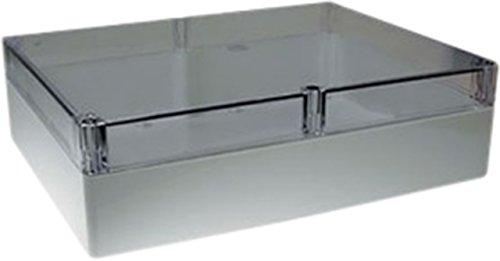 TronicXL Kunststoffgehäuse 120 x 240 x 60 mm PU ABS Elektro Gehäuse Box Anschlußdose Elektrik Anschluss Dose