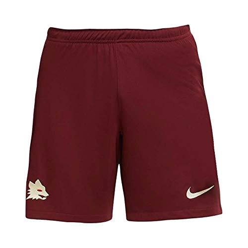 NIKE Roma M NK BRT Stad Short AW Sport Shorts, Hombre, Dark Team Red/Light Cream no Sponsor, XS