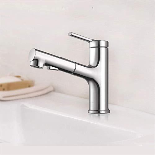 Grifo, grifo del fregadero del lavabo del cuarto de baño con enjuague extraíble rociador gárgaras 2 modos mezclador mezclador de cocina grifo mezclador