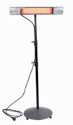 infralogic Rundfuß Stativ bis 2,1 m Höhe, schwarz, Fuß 42 cm