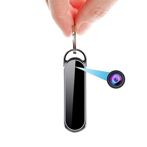 Grabadoras de Voz Digitales, La Cámara HD 1080P Mini Voz Foto Video Recorder Llavero 1080P Videocámara Portátil De Audio Digital Sound Dictáfono (Size : 16GB)