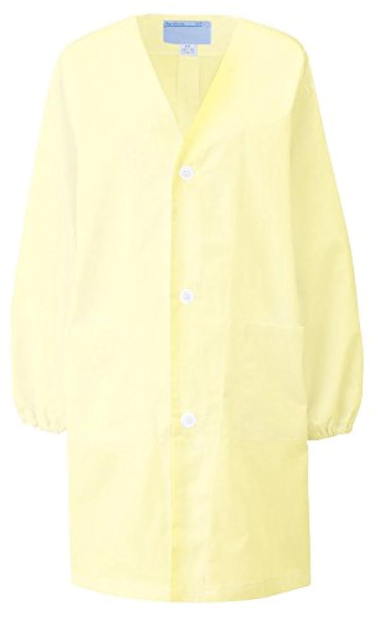 レジデンスクレーン補正KAZEN カゼン 給食衣(シングル型)1~3号 397-94(クリーム) サイズ:3号