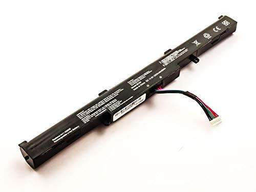 Akkuversum Akku kompatibel mit Asus F751SA-TY118T, Notebook/Netbook/Tablet Li-Ion Batterie