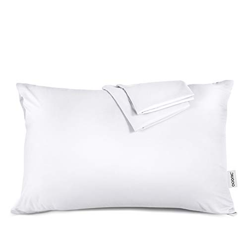 Adori Pillow Cases Pillowcases Set of 2 Queen Size (20x30) Pure Microfiber Fabric Soft and Comfortable Wrinkle Resistant Envelope Closure End, White