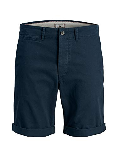 JACK & JONES Herren Chinoshorts Regular Fit LBlack Iris
