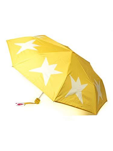 Paraguas Plegable Agatha Ruiz de la Prada Amarillo con Estrellas