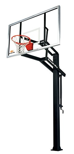 Goalrilla GS I In-Ground Basketball System with 72' x 42' Tempered...