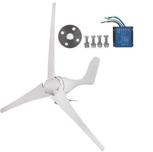 SHZOND Wind Generator 400W Hybrid Wind Turbine Generator DC 12V Turbine Wind Generator 3 Blades 20A Wind Generator Kit