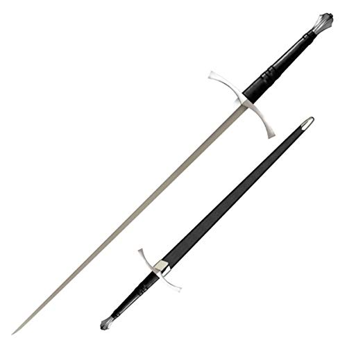Cold Steel 88ITS Italian Long Sword, Black