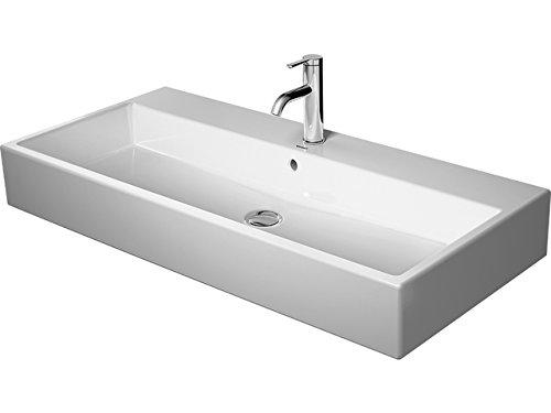 Duravit Waschtisch Vero Air 1000mm, Weiß 2 Hahnlöcher Geschliffen, WG, 23501000261