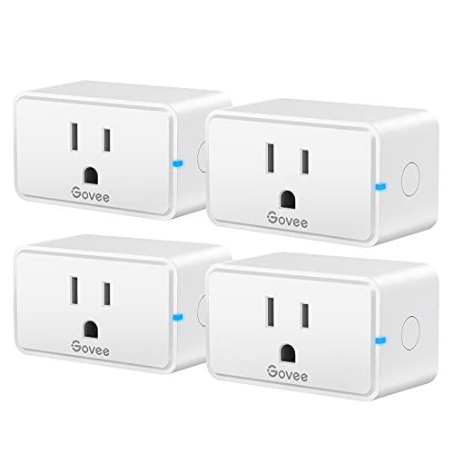 Govee Smart Plug, WiFi Bluetooth Outlets 4 Pack...