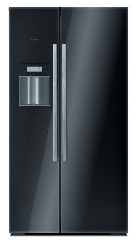Bosch KAD62S51 Side by Side / A+ / Kühlen: 351 L / Gefrieren: 177 L / schwarz / No Frost / Trinkwasserspender