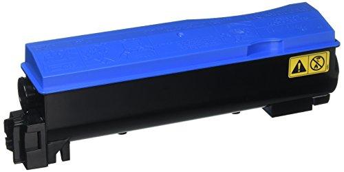 Kyocera Cyan Toner Cartridge + Waste Toner Bottle, 10000 Yield (TK562C)
