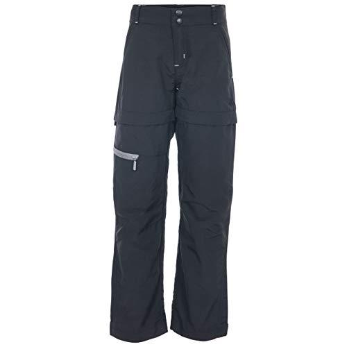 Trespass Pantalones de Defensa Unisex con protección UV, Unisex niños, UCBTTRN10001_BLK3/4, Negro,...