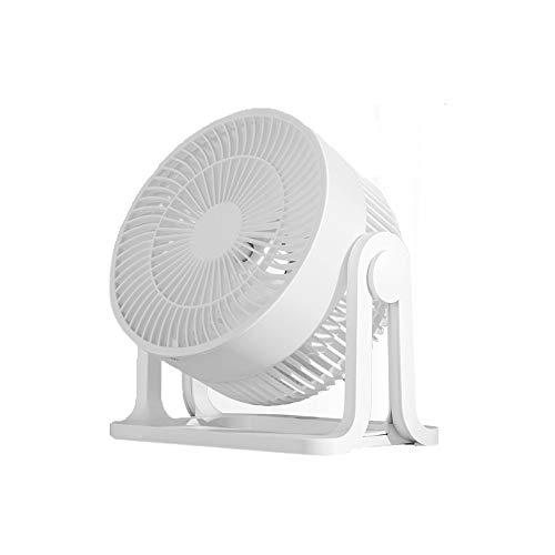 HANSHAN Tischventilatoren Mini Luftumwälzer Fan, ≤15db Silent Mode, 3 Geschwindigkeiten, Tischventilatoren