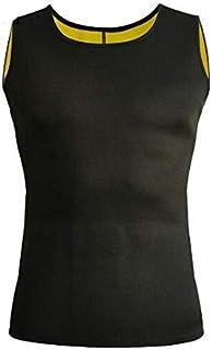 سترة تنحيف البطن مشد النيوبرين للتنحيف الخصر مدرب الرجال زائد الجسم تنحيف حزام البطن حجم L