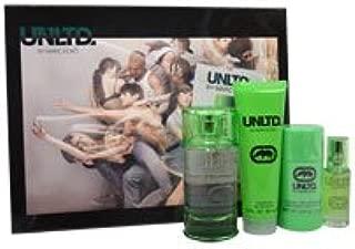 UNLTD by Marc Ecko for Men - 4 Pc Gift Set 3.4oz EDT Spray, 0.5oz EDT Spray, 3oz Shower Gel, 2.6oz Deodorant Stick