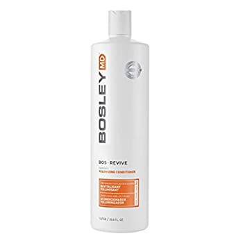 BosleyMD BosRevive Volumizing Conditioner for Noticeably Thinning and Color/Chemically-Treated Hair 33.8 fl oz.