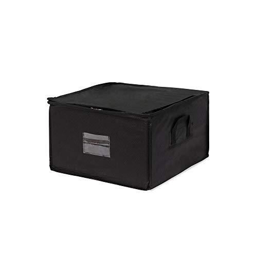 Compactor, Compress Pack de Housse Polypropylène Noir 42 x 40 x 25 cm, RAN4424