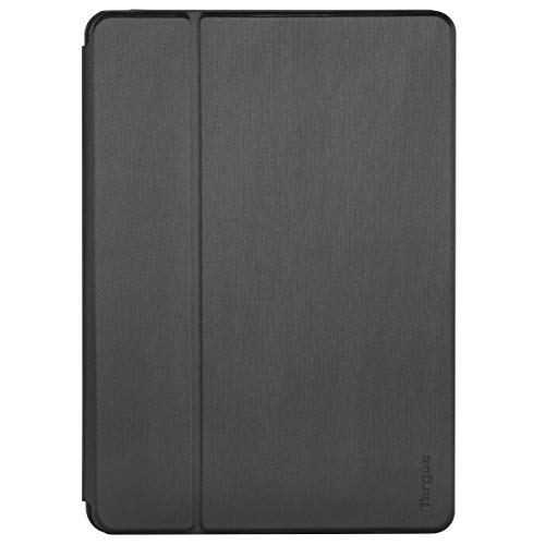 Targus Click-In Apple iPad (7th Gen) 10.2-Inch, iPad Air 10.5-Inch iPad Pro 10.5-Inch Protective Tablet Cover Case with Hands Free Kickstand, Drop- Safe Protection, Water-resistant, Black (THZ850GL)