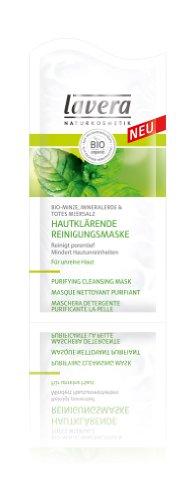 Lavera, Masque Purifiant Menthe Bio, 10 ml