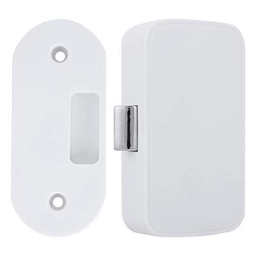 Intelligentes Bluetooth Schrankschloss, Schlüsselloses Entriegeln, Unsichtbares Schloss für Schublade, Kleiderschrank, Briefkasten, Aktenschrank