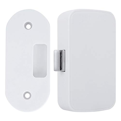 Cerradura inteligente para armario con Bluetooth, desbloqueo sin llave, cerradura invisible para cajón, armario, buzón, archivador