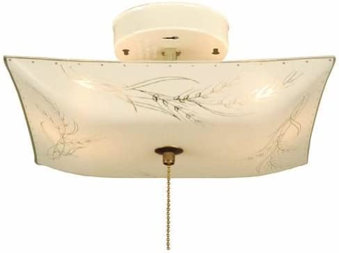 Portfolio 11 7 8 in White Ceiling Flush Mount Item 205024 Model A2823 2 1 product image