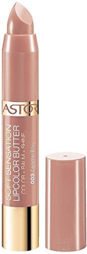 Astor Soft Sensation Lipcolor Butter, 003 Caramel Envy, pflegender Lippenstift, 1er Pack (1 x 5 g)