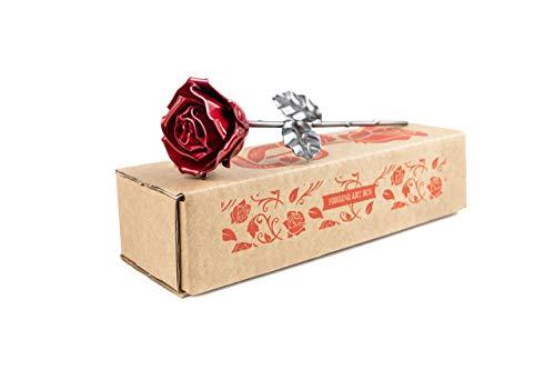 Eisen Schmiede ewige Rose - Handgeschmiedet
