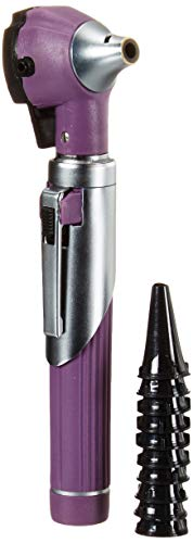 ZetaLife Otoscope - Ear Scope with Light, Ear Infection Detector, Pocket Size, in 10+ Colors! (Purple)