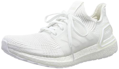 adidas Men's Ultraboost 19 M Running Shoes, White (FTWR White/FTWR White/Core Black FTWR White/FTWR White/Core Black), 6.5 UK