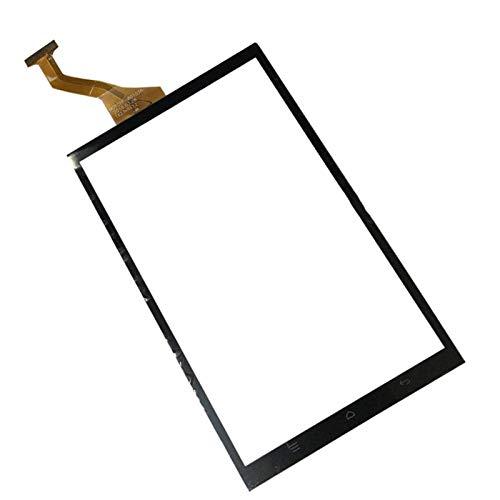 Pantalla táctil Ajuste para Yuntab 8 H8 4G LTE 8 Pulgadas Tablet Panel Digitalizador de reemplazo de Sensor de Vidrio (Solo Pantalla táctil) (Color : Black)
