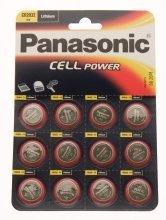 Panasonic cr2032-c12al litio a bottone Bulk (1box 120celle)
