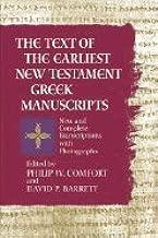 Earliest New Testament Greek Manuscripts