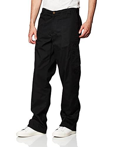 Carhartt Men's Ripstop Multi-Cargo Scrub Pant, Black, XX-Large