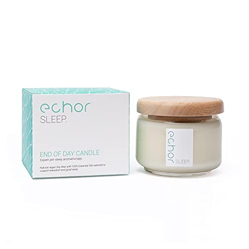 Echor End of Day Essential OilsAromatherapy Scented Vegan Soy Wax Candle up...