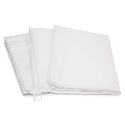 LS Hyindoor 植物保護カバー 冬の霜フリーズ用保護カバー プラントバッグネット3個 (60×110cm)