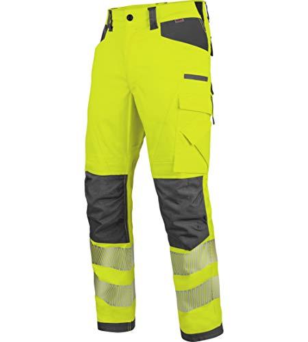 WÜRTH MODYF Warnschutz Bundhose Neon EN 20471 2 gelb anthrazit: Die zertifizierte Arbeitshose aus der German Design Award Winner Kollektion 2019.